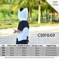 Costumes, CS010-03 - Animal Costume (Panda) - The Baby Zebra