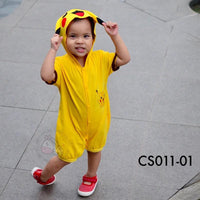 Costumes, CS011 - Pokemon Costume (Pikachu) - The Baby Zebra