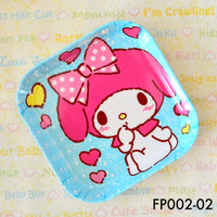 Tablewares, FP002 - My Melody Square Plate - The Baby Zebra
