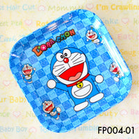 Tablewares, FP004 - Doraemon Square Plate - The Baby Zebra