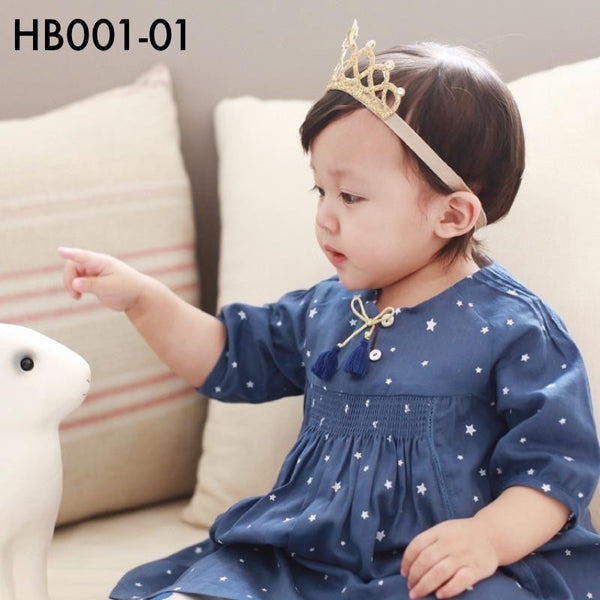 Headbands, HB001 - Miko Head Band - The Baby Zebra