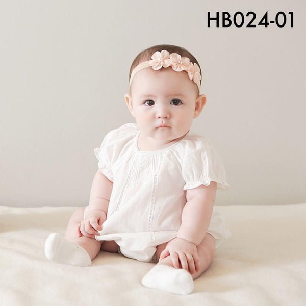 Headbands, HB024 - Lily Head Band - The Baby Zebra