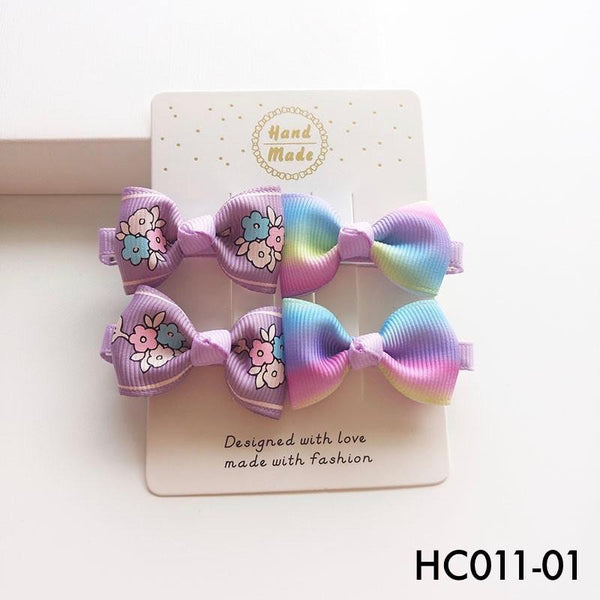Hair Clips, HC011 - Assorted Hair Clip Set - The Baby Zebra