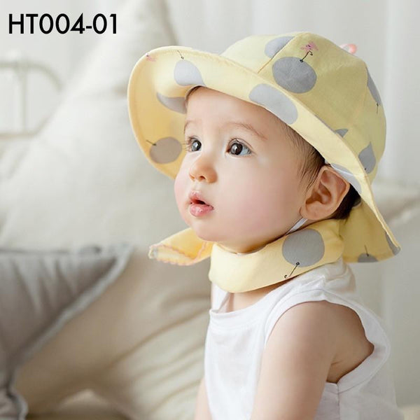 Hats, HT004 - Polka Dots Hat - The Baby Zebra