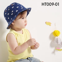 b516517c8e7 HT009 - Crown Bucket Hat – The Baby Zebra