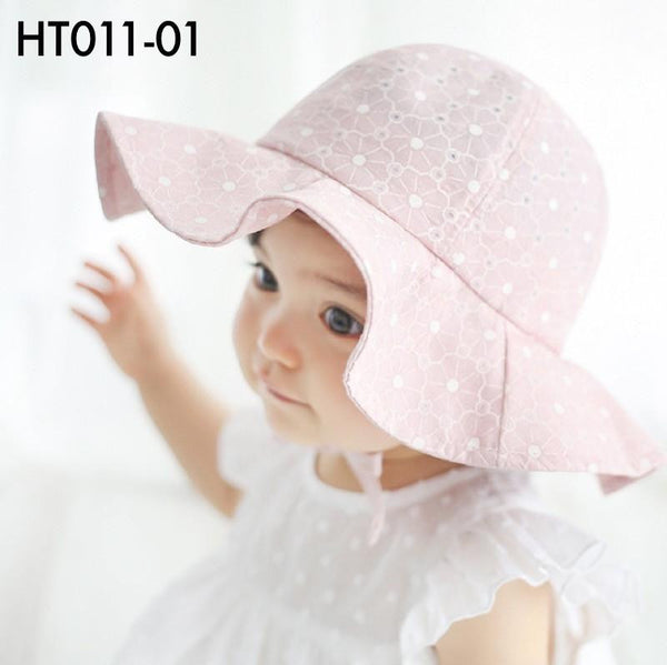 Hats, HT011 - Spring Floral Hat - The Baby Zebra