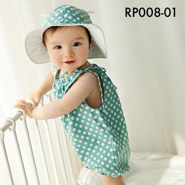 Rompers, RP008 - Bubble Tea Baby Romper - The Baby Zebra