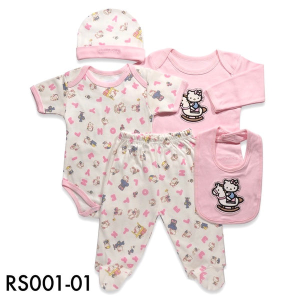 Rompers, RS001-01 - Hello Kitty Baby Set - The Baby Zebra