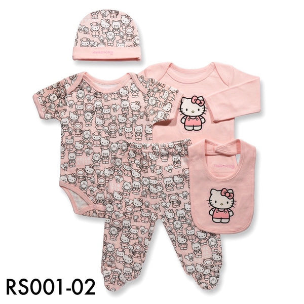 Rompers, RS001-02 - Hello Kitty Baby Set - The Baby Zebra