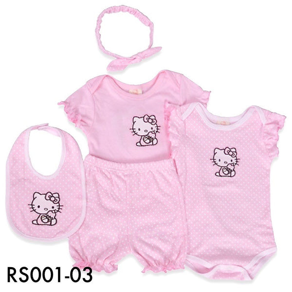 Rompers, RS001-03 - Hello Kitty Baby Set - The Baby Zebra