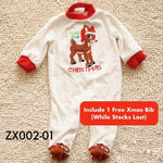 Seasonal Items, ZX002-Christmas Bodysuit - The Baby Zebra