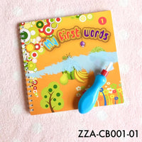 Consignments, ZZA-CB001 Paint-with-Water Colouring Book for Toddler - The Baby Zebra
