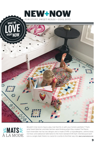 Today's Parent Magazine and the Pieces non-toxic Play mats