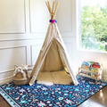 Persian Rug/ Clover Play Mat