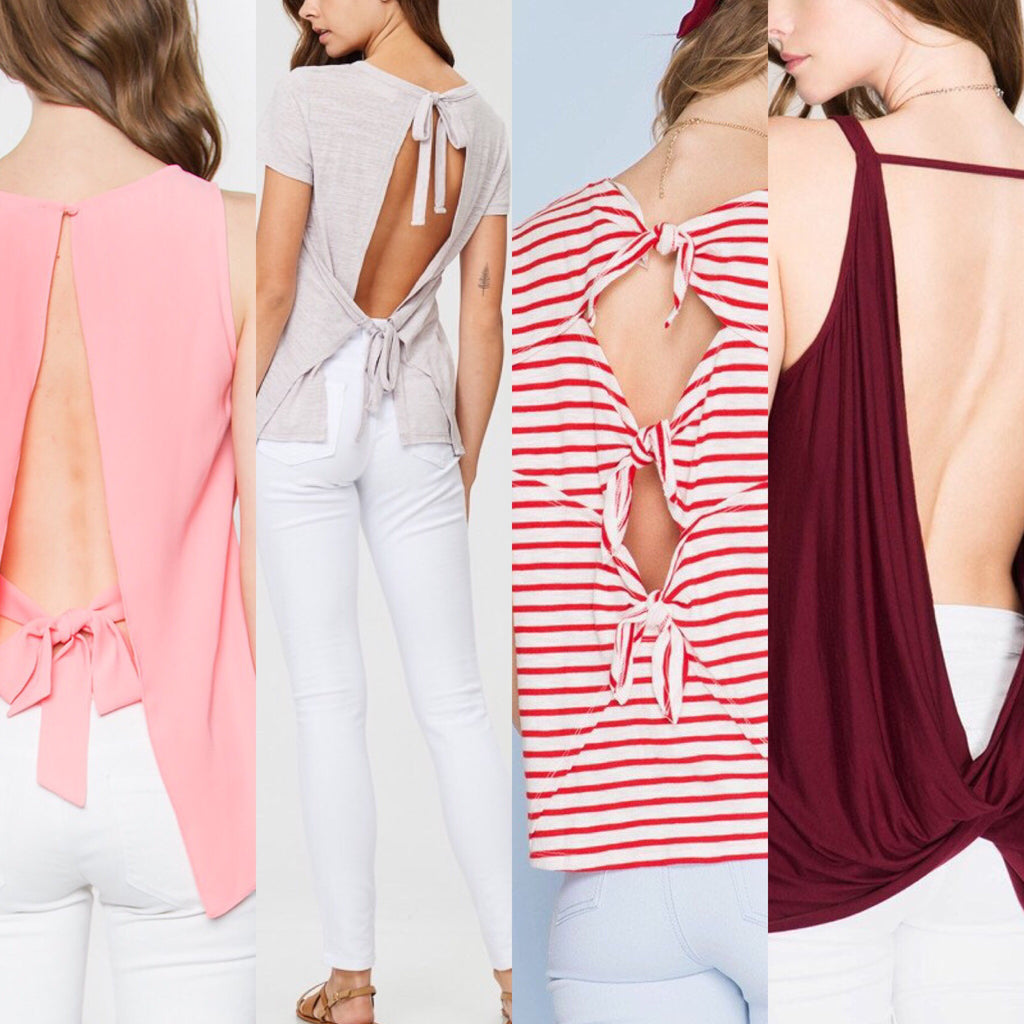 THE BACKLESS TOP CONUNDRUM?!?