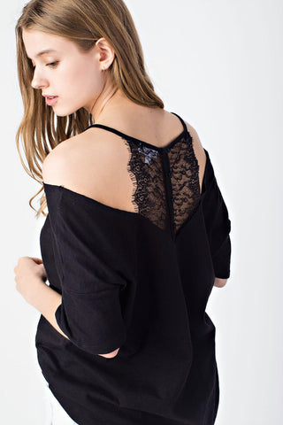 SERENA TOP - BLACK