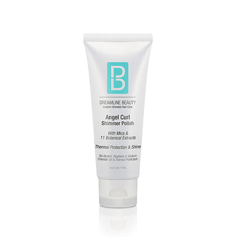 Angel Curl Shimmer Polish