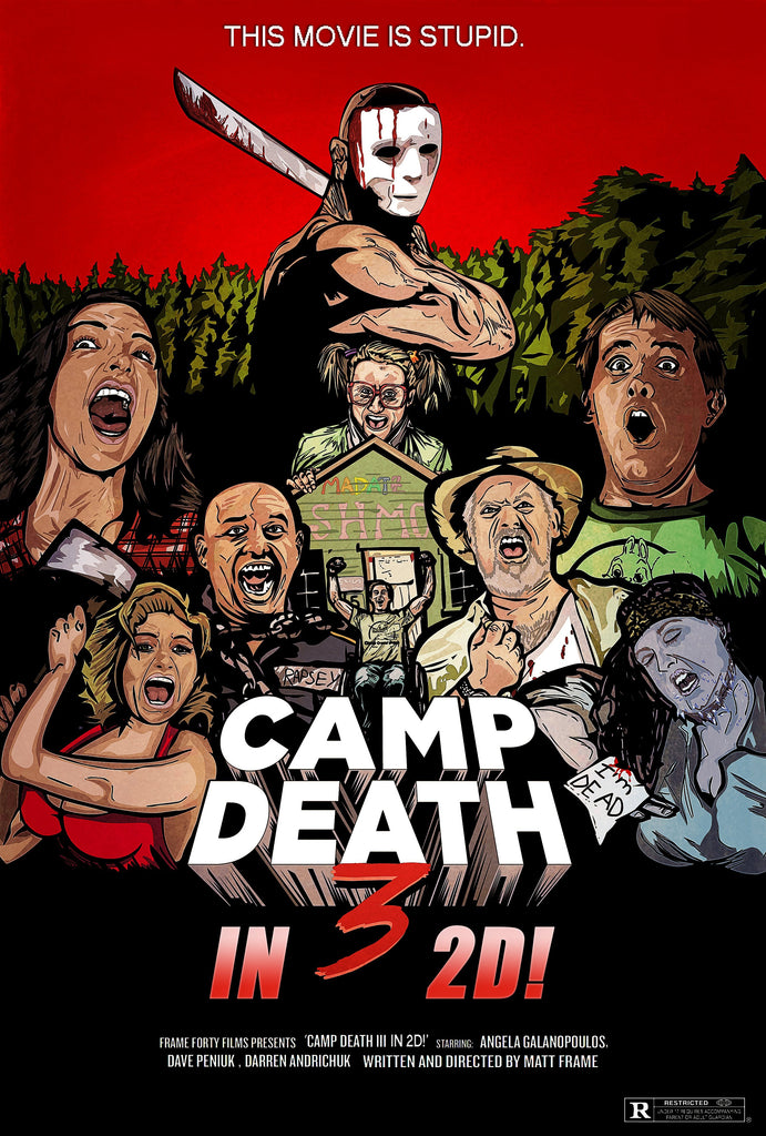 Interview with Matt Frame; Writer/Director/Producer of Camp Death III in 2D!