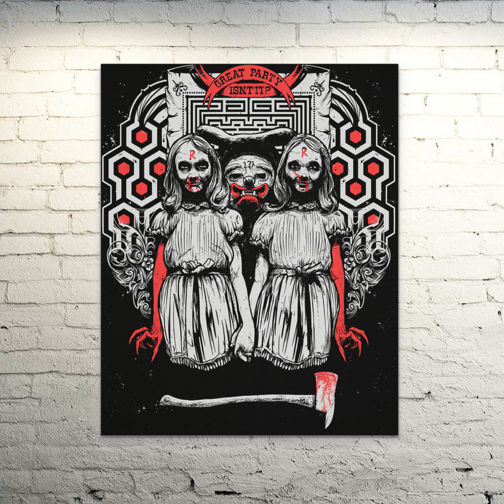 Canvas Wall Art - Redrum Wall Canvas