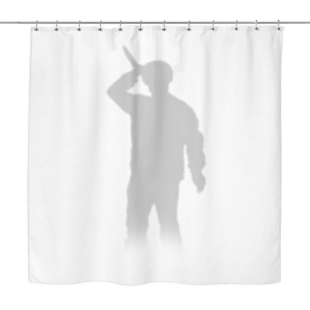 Psycho shower curtain curtain menzilperde net for Psycho shower curtain and bath mat