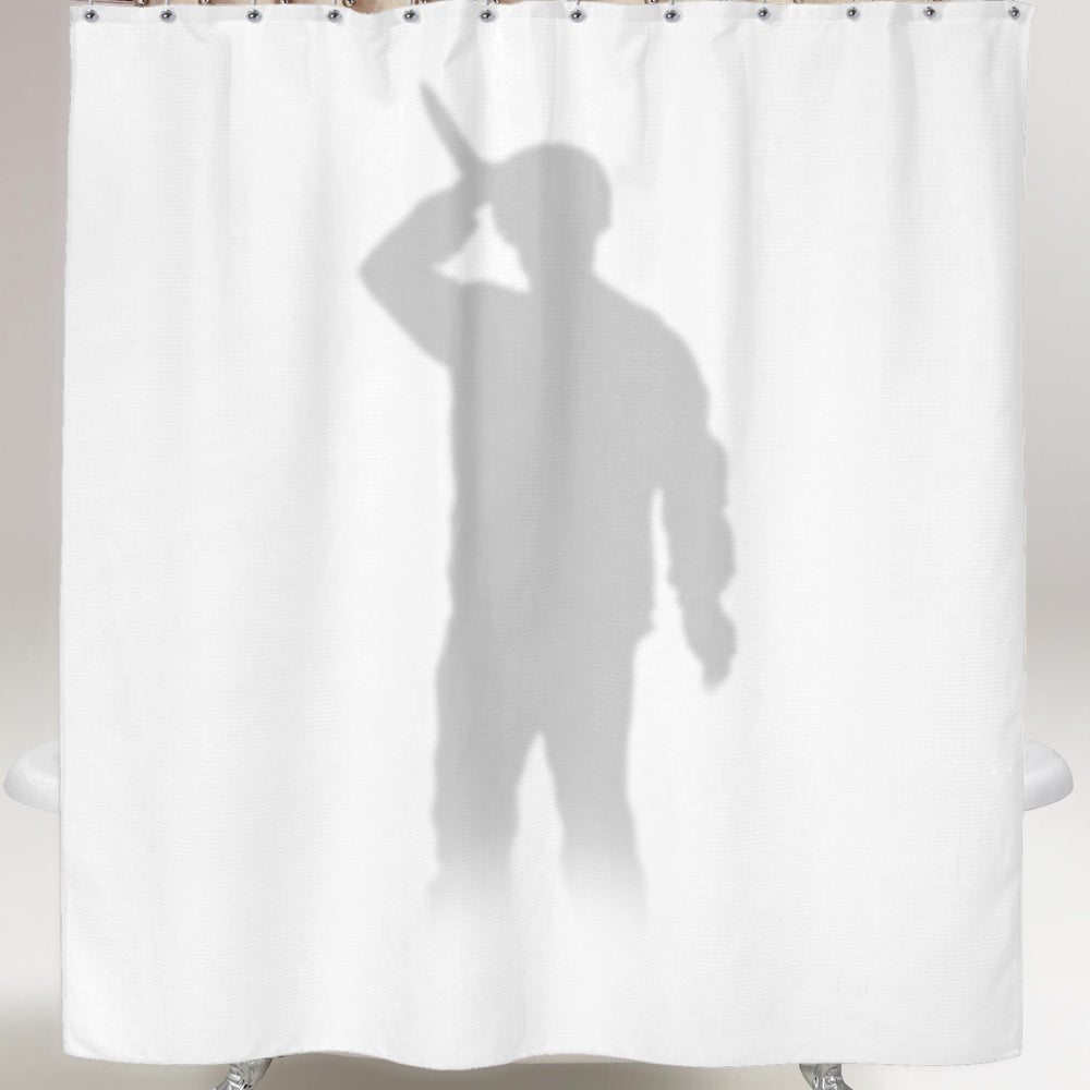 Psycho Shower Curtain Horror Store