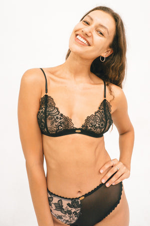 Pepper Triangle Bralette