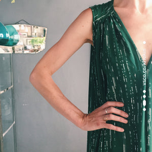Emerald Flow Dress
