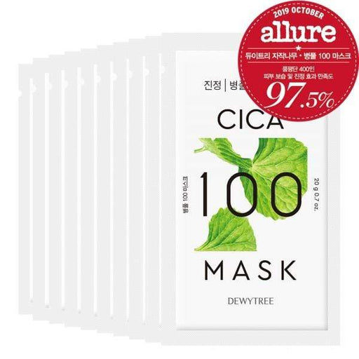 Dewytree Mask sheet [DEWYTREE] Cica 100 Mask (10 PCS)