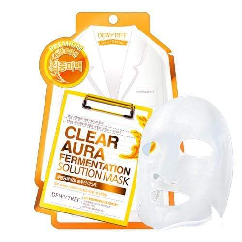 Dewytree Mask sheet [Dewytree] CLEAR AURA Fermentation Solution Mask (1Box-10PCS)
