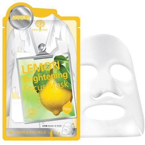 Dewytree Mask sheet [Dewytree] LEMON Brightening Focus Mask (1Box-10PCS)