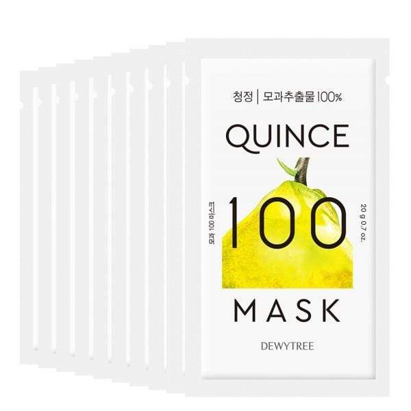 Dewytree Mask sheet [DEWYTREE] Quince 100 Mask (10 PCS)