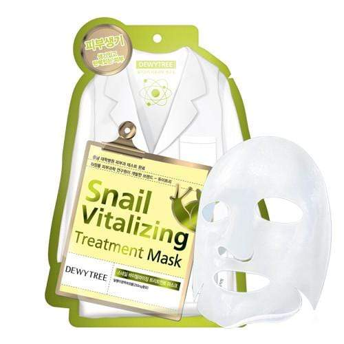 Dewytree Mask sheet [Dewytree] Snail Vitalizing Treatment Mask (1Box-10PCS)