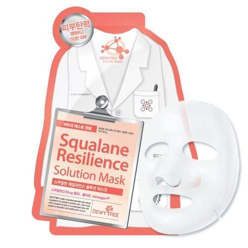 Dewytree Mask sheet [Dewytree] Squalane Resilience Solution Mask (1Box-10PCS)