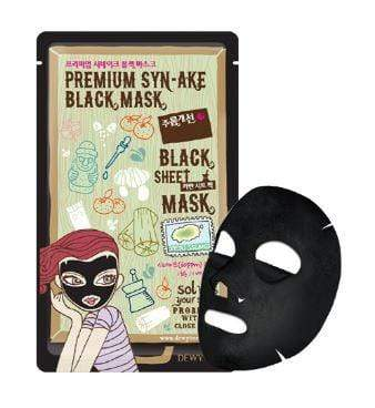 Dewytree Mask sheet [Dewytree] Synake Black Mask (1Box-10PCS)