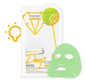 Dewytree Mask sheet [Dewytree] Whitening Deep Mask (1Box-10PCS)