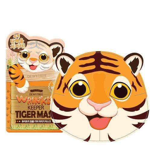 Dewytree Mask sheet [Dewytree] WRINKLE KEEPER TIGER MASK (1Box-10PCS)