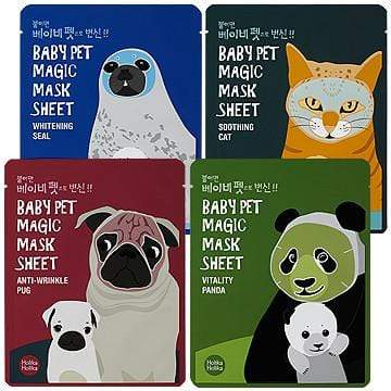 HOLIKA HOLIKA Mask sheet [Holika Holika] Baby Pet Magic Mask Sheet (4ComboPackage)