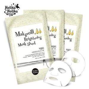 HOLIKA HOLIKA Mask sheet [Holika Holika] Makgeolli Brightening Mask Sheet (5PCS)