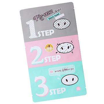 HOLIKA HOLIKA Masks [Holika Holika] Pig-Nose Clear Blackhead 3-Step Kit (10PCS)