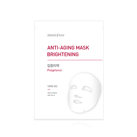 innisfree Mask sheet [innisfree] Anti-Aging Mask Brightening (5PCS)