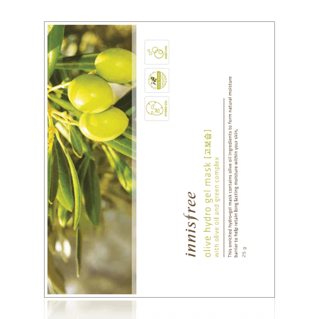 innisfree Mask sheet [innisfree] Olive Hydro Gel Mask (2PCS)