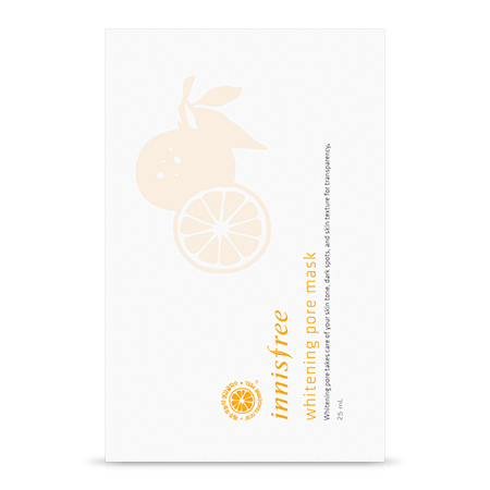 innisfree Mask sheet [innisfree] Whitening Pore Mask (3PCS)