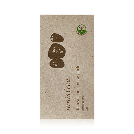 innisfree Masks [innisfree] Jeju Volcanic Nose Pack (6PCS)