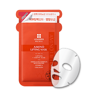 Leaders Mask sheet [Leaders] Mediu Amino Lifting Mask (1Box-10PCS)