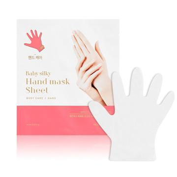 MASK38 [Holika Holika] Baby Silky Hand Mask Sheet