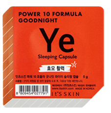 MASK38 [It's Skin] Power 10 Formula Goonight Sleeping Capsule (3 PCS)