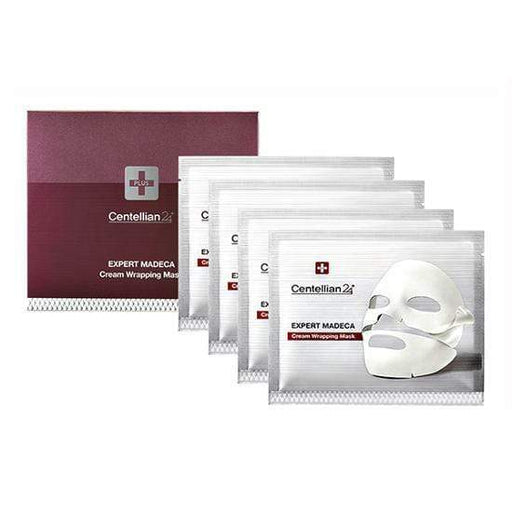 MASK38 Mask sheet [Centellian24] Expert Madeca Cream Wrapping Mask 4 Sheets