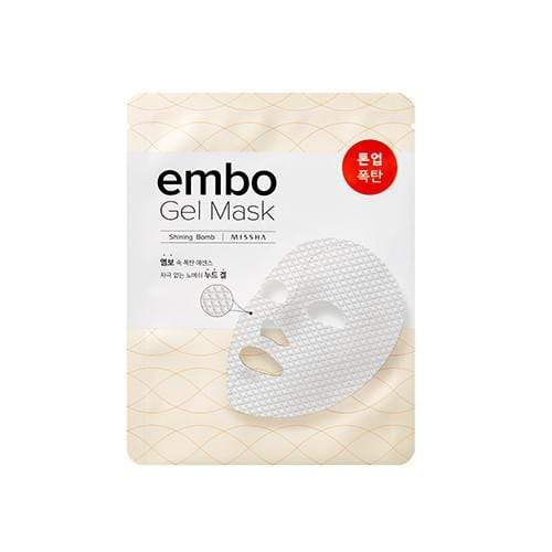 MASK38 [MISSHA] embo Gel Mask- Shining Bomb (5 PCS)