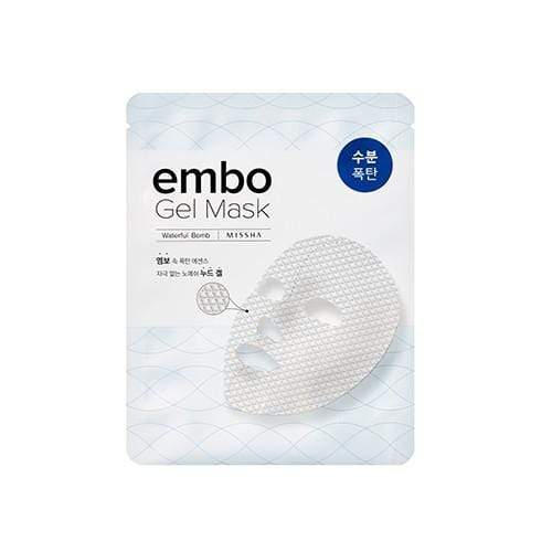 MASK38 [MISSHA] embo Gel Mask- Waterful Bomb (5 PCS)