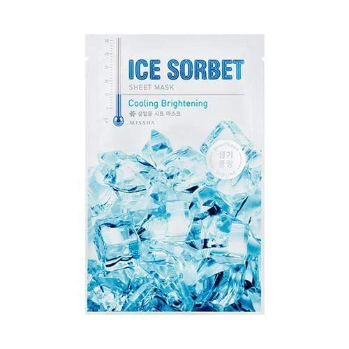 MASK38 [MISSHA] Ice Sobert Sheet Mask 5 PCS  (Cooling Brightening)